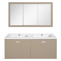 Differnz Badmeubel New Classic 120 cm -  Taupe