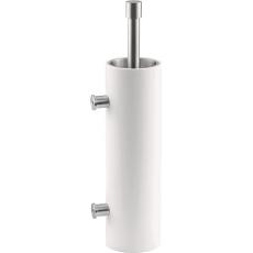 PIET BOON PB303 toiletborstel wand RVS/wit corian
