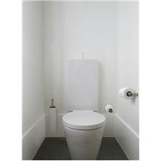 PIET BOON PB200 toiletrolhouder mat RVS