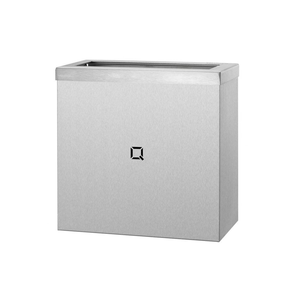 Qbic-line afvalbak open 9l RVS QWBO9 SSL