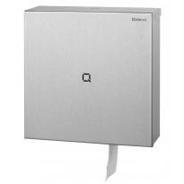Qbic-line jumboroldispenser groot RVS QTR1L SSL