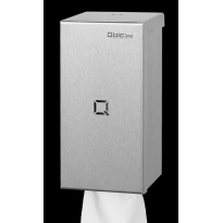 Qbic-line poetsroldispenser klein RVS QCPTS SSL
