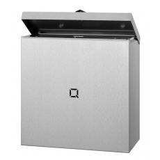 Qbic-line RVS hygiënebak 9 liter, QLB9 SSL