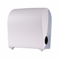 PlastiQline handdoekroldispenser kunststof wit mini PQSAutK