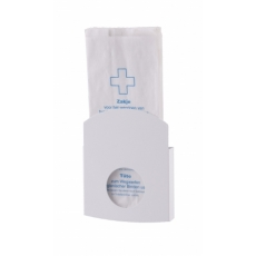 Dutch Bins hygiënezakjesdispenser wit papier/plastic ACHBDSEP