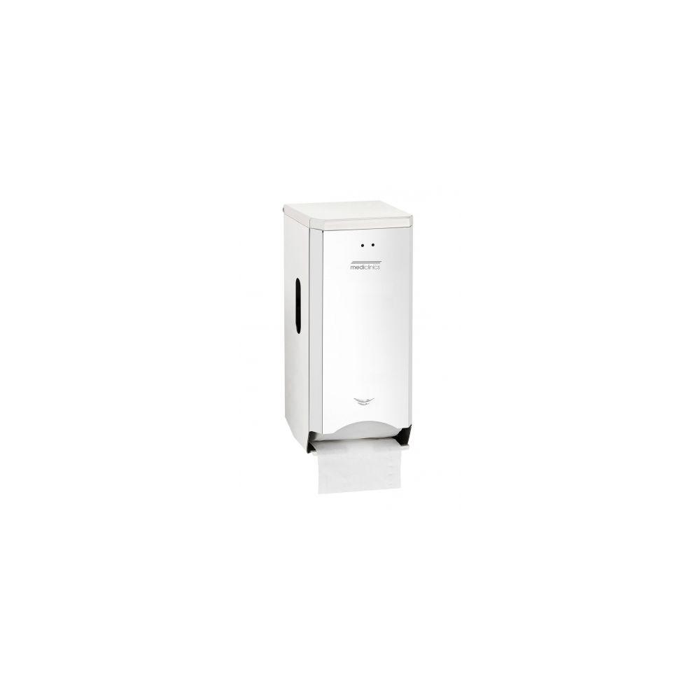 Mediclinics toiletrolhouder (2 rollen) RVS hoogglans PR2784