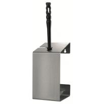MediQo-line toiletborstelhouder RVS AC-06-CSA