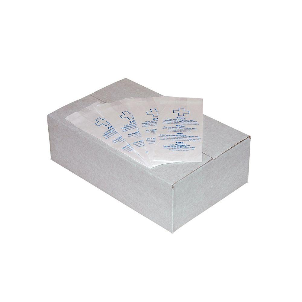 Hygiënezakjes papier, doos 1000 stuks