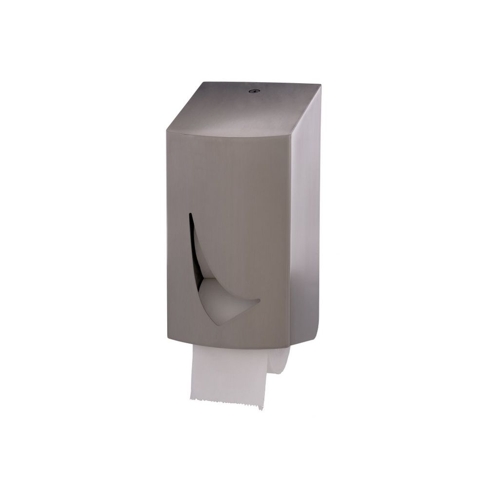 Wings toiletrolhouder 2-rols kokerloos RVS WIN TR2C SAL