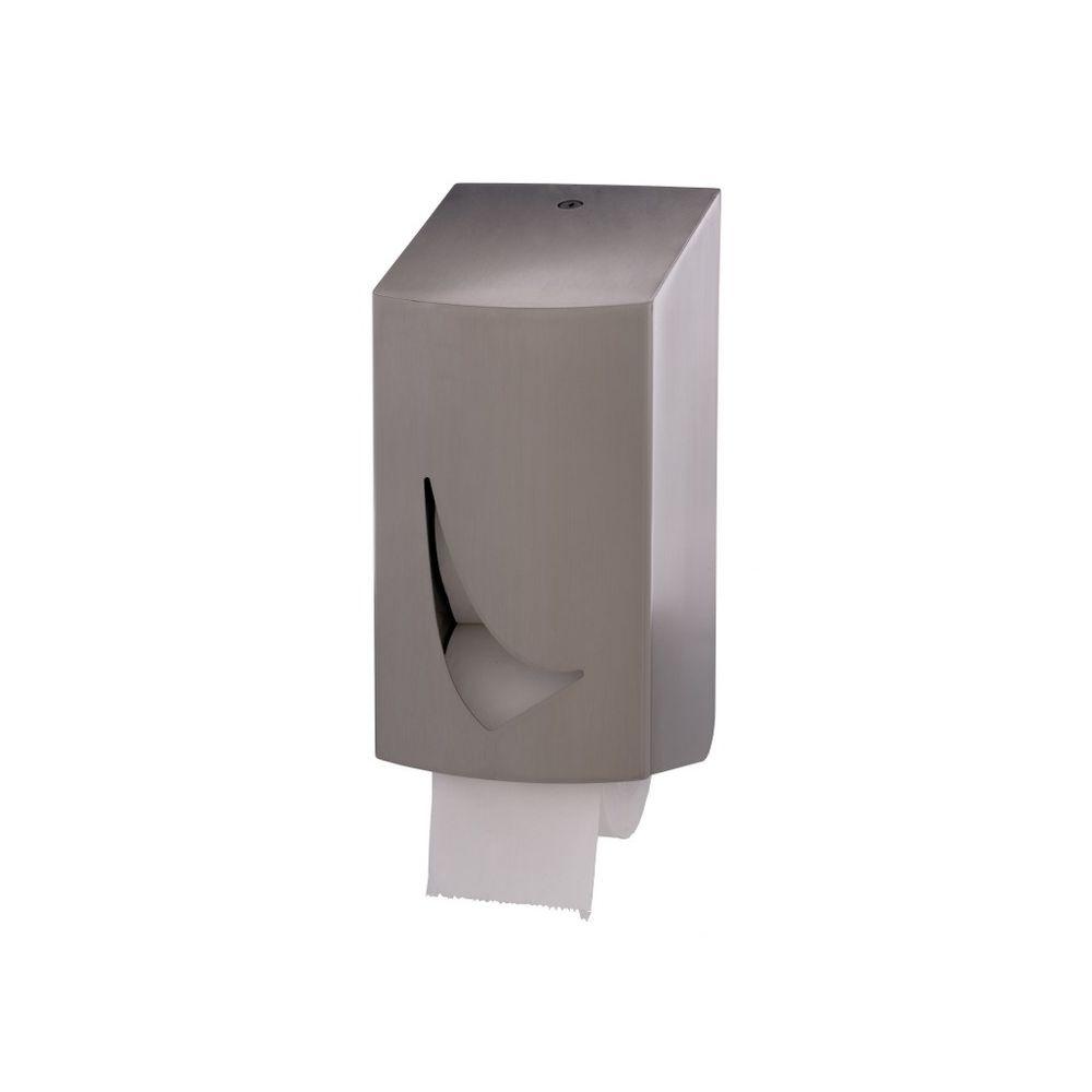 Wings toiletrolhouder 2-rols dop RVS WIN TR2S SAL
