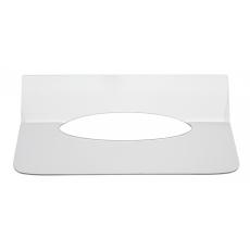 Interfold inlegplaatje handdoekdispenser