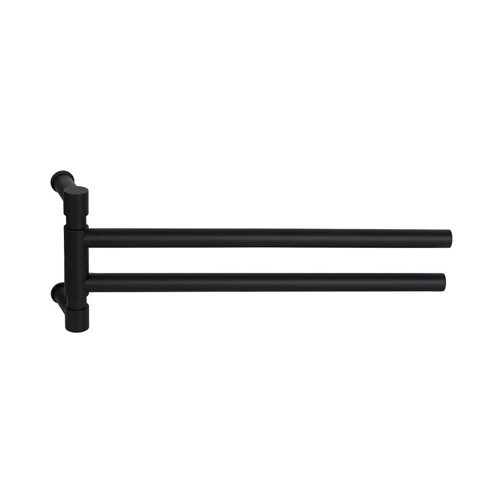 PIET BOON PB450 draaibare handdoekstang 450mm mat zwart