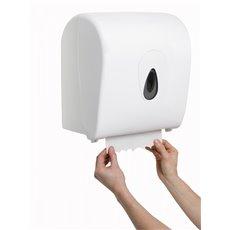 PlastiQline handdoekroldispenser kunststof wit mini PQSACDK