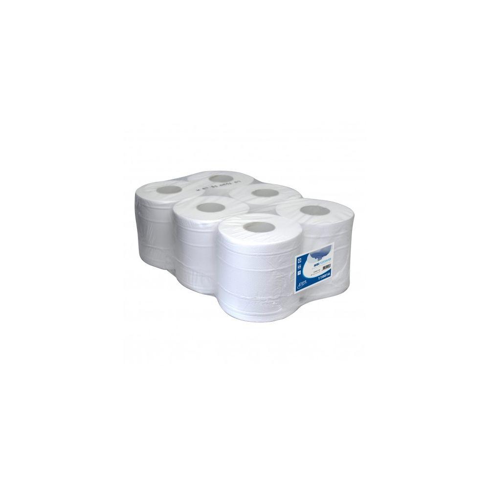 Euro Products poetsrol 160 meter 2-laags, 6 rollen