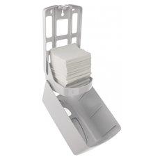 PlastiQline 2020 kunststof mini poetsroldispenser zwart - PQB20MiniC