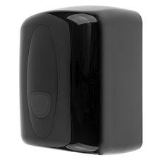 PlastiQline 2020 kunststof midi poetsroldispenser zwart - PQB20MidiC