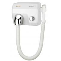 Mediclinics haardroger drukknop wit met slang SC0088HT