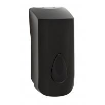PlastiQline 2020 kunststof zeepdispenser 900ml zwart - PQ20Soap9B