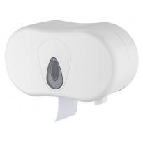 PlastiQline 2-rols toiletrolhouder (kokerloos) PQTMCDuo