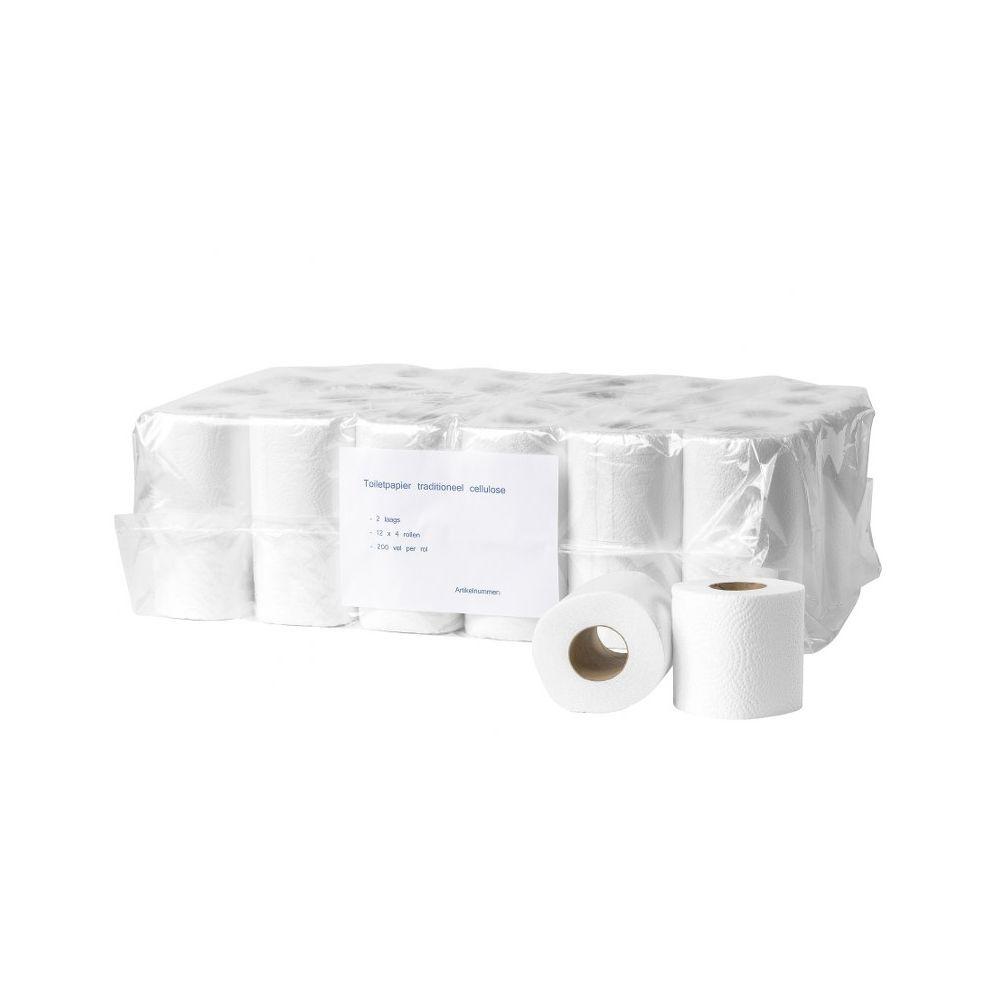 Toiletpapier cellulose 2 laags 200 vel