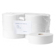 Toiletpapier Maxi Jumbo recycled wit 2 laags