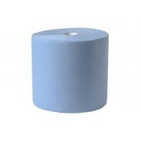 Industrierol 380m verlijmd blauw 3 laags