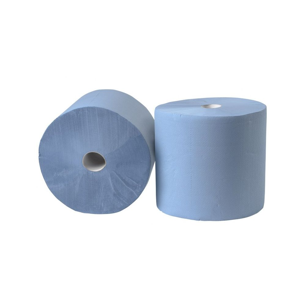 Industrierol 180m verlijmd blauw 3 laags