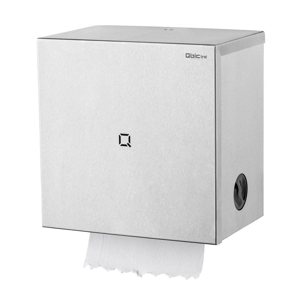 Qbic-line handdoekroldispenser RVS QAutS SSL