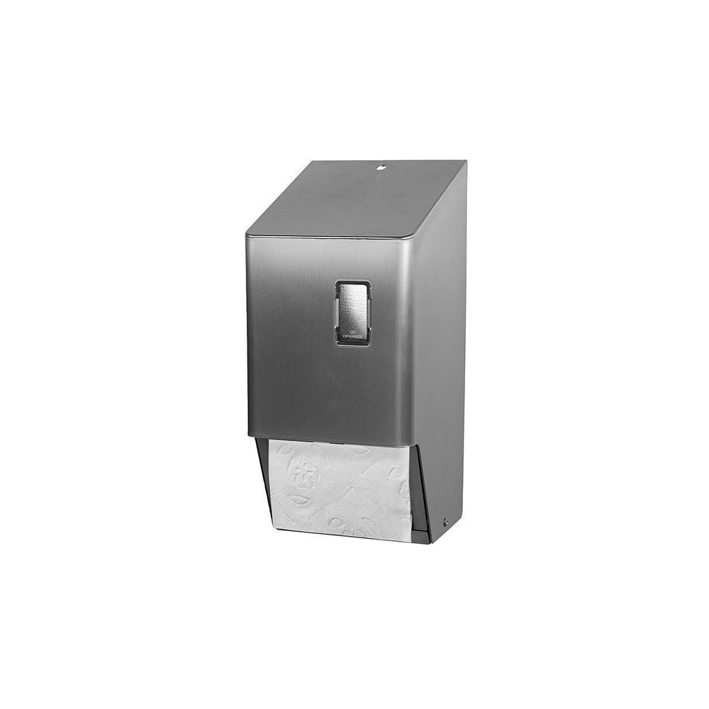 SanTRAL Toiletrolhouder 2rols RVS (standaard rollen) TRU 2-2 E ST