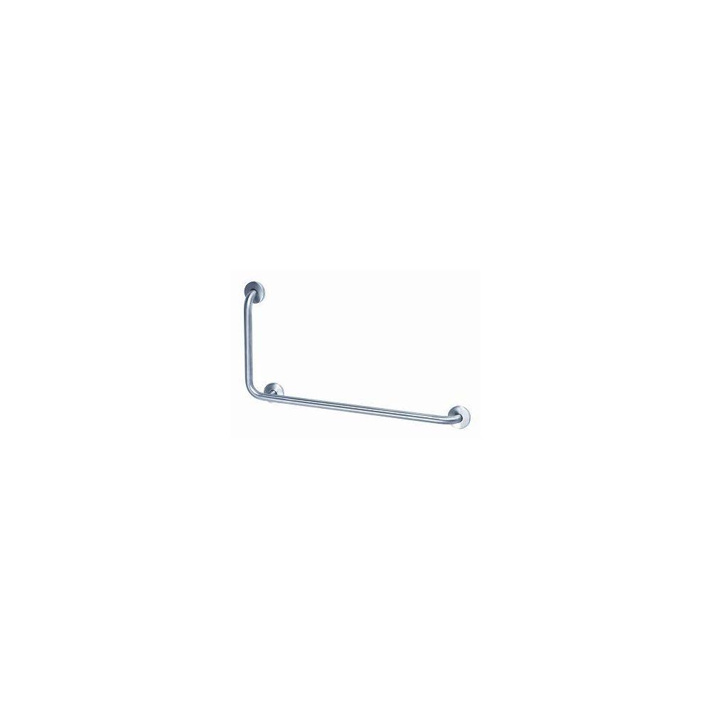 MediQo-line left angled bar RVS BAI090CS