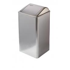 Mediclinics afvalbak RVS hoogglans 65l. PP0065C