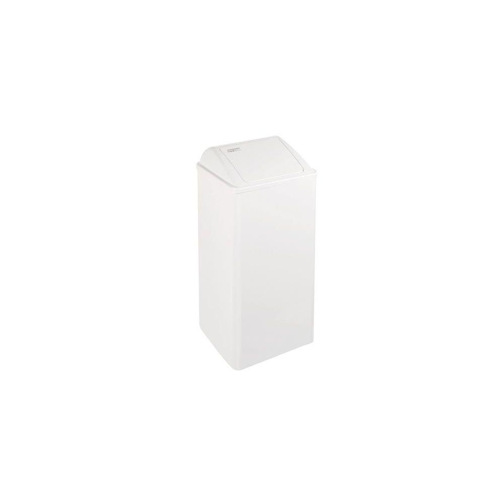Mediclinics afvalbak wit 80l. PP0080