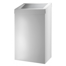 Dutch Bins basic afvalbak wit 50l ACBB50EP