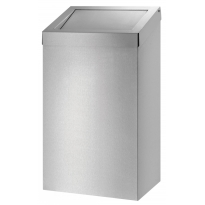 Dutch Bins basic afvalbak RVS 50l ACBB50E