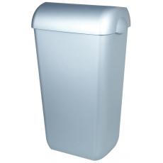 PlastiQline afvalbak RVS-look 43l PQA43M