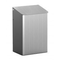 MediQo-line afvalbak aluminium 6 liter MQWB6A