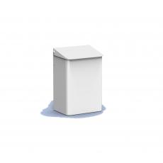 MediQo-line afvalbak wit 6 liter MQWB6P