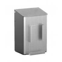 MediQo-line hygiënebak 6 liter aluminium + zakjeshouder MQWB6HBHA