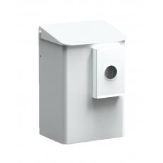 MediQo-line hygiënebak 6 liter wit+ zakjeshouder plastic zakjes MQWB6HBKP