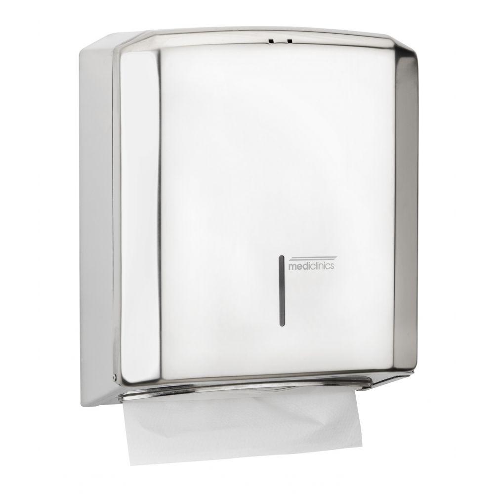 Mediclinics handdoekdispenser RVS hoogglans DT2106C