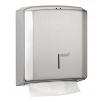 Mediclinics handdoekdispenser RVS DT2106CS