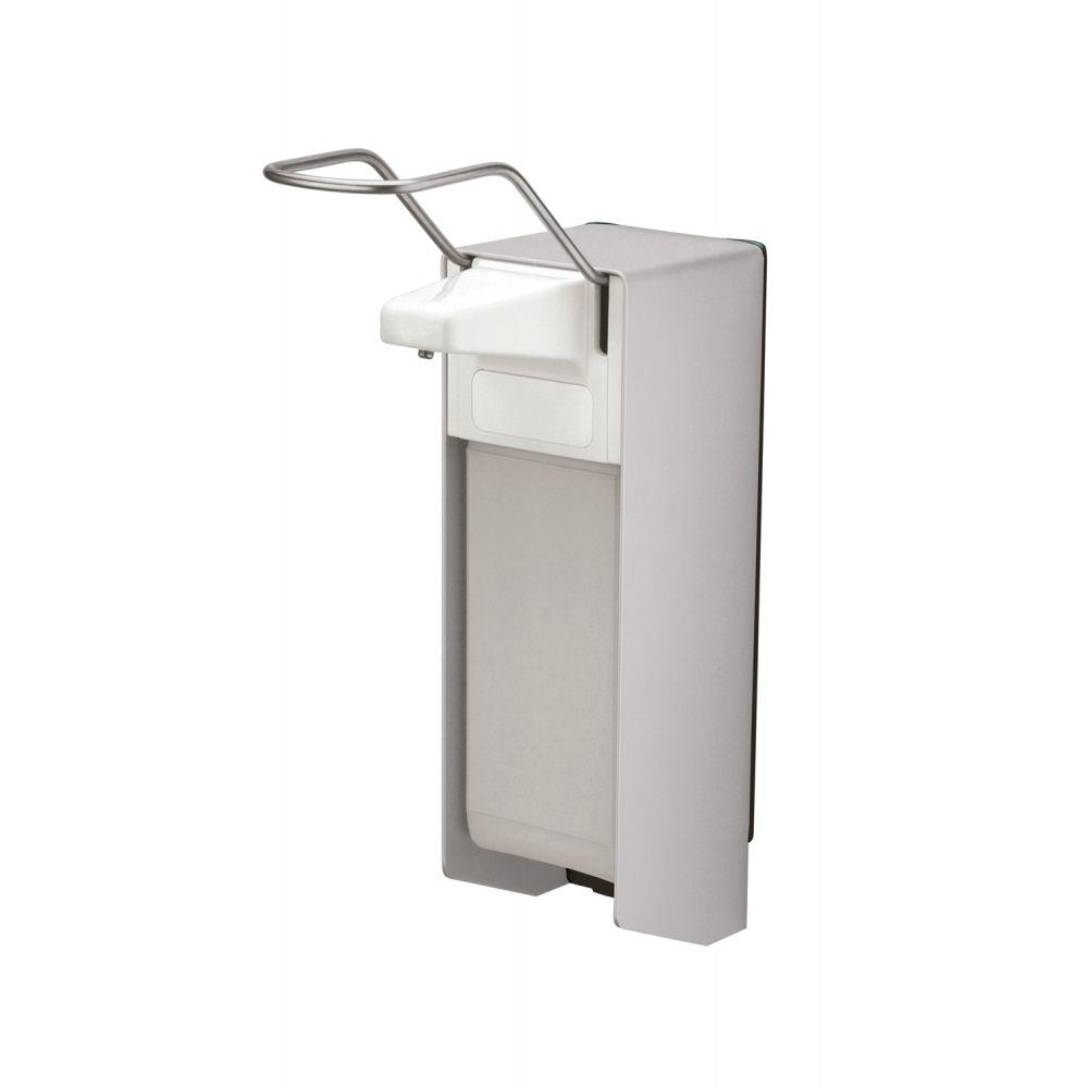MediQo-line zeepdispenser aluminium 1000ml lange bedieningsbeugel MQL10A