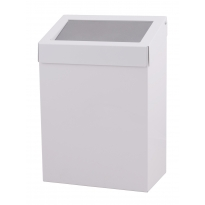 Dutch Bins basic afvalbak wit 20l ACBB20EP