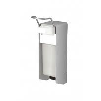 MediQo-line zeepdispenser aluminium 500ml korte bedieningsbeugel MQ05A