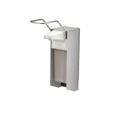 MediQo-line zeepdispenser aluminium 500ml lange bedieningsbeugel MQL05A