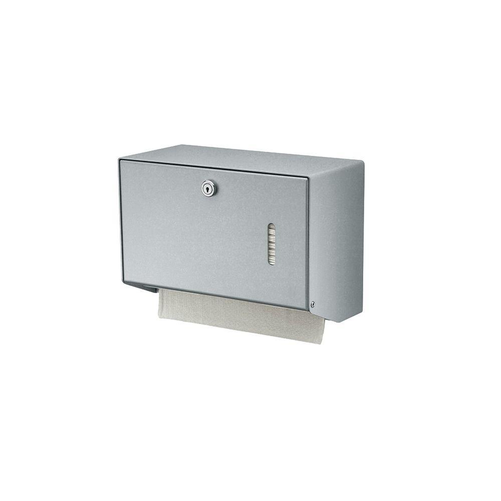 MediQo-line handdoekdispenser aluminium klein MQHSA