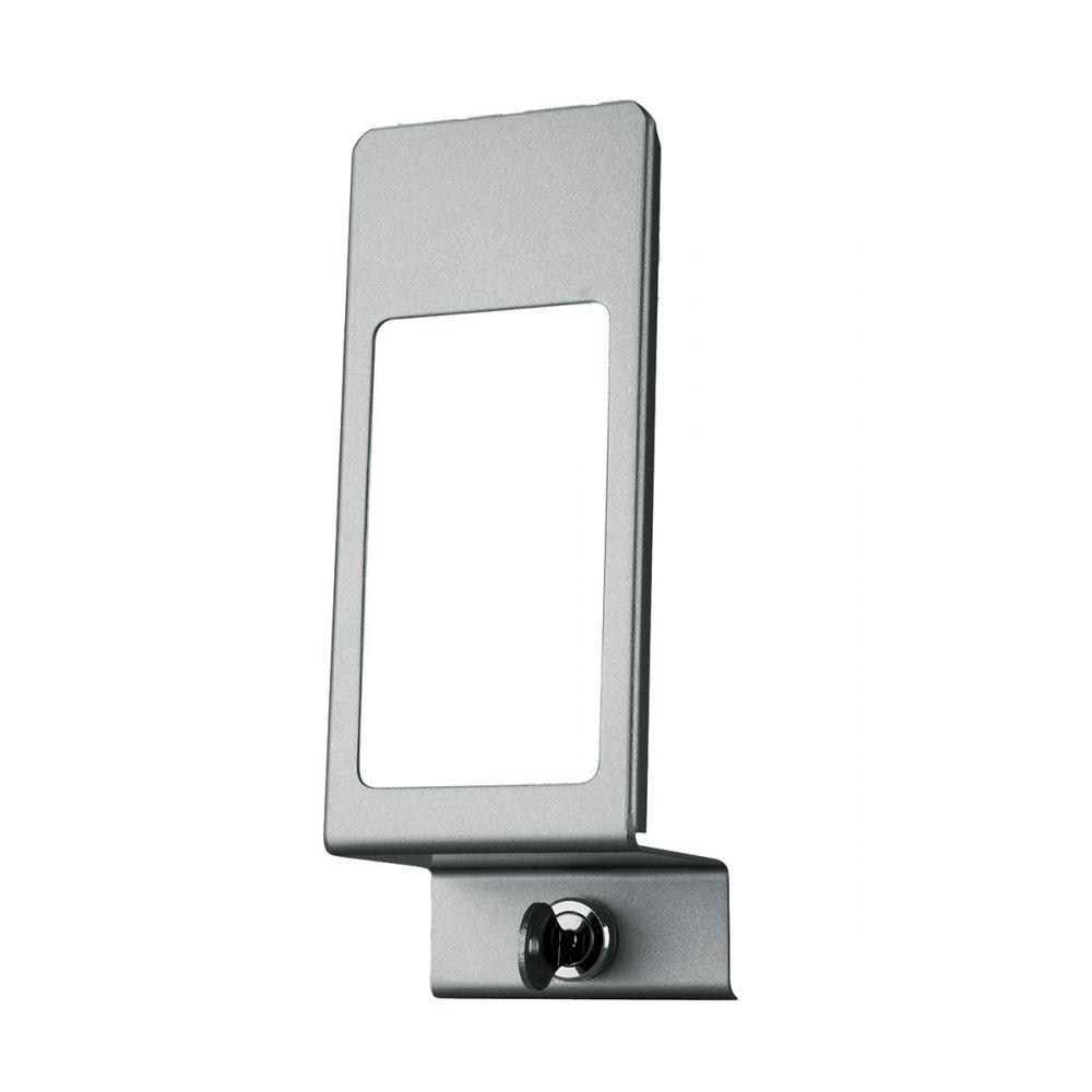 MediQo-line afsluitplaat aluminium 500ml+venster MQLP05A