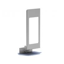MediQo-line afsluitplaat aluminium 1000ml+venster MQLP10A