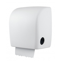 PlastiQline kunststof handdoekroldispenser wit PQXAutK