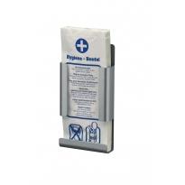 MediQo-Line hygiënezakjehouder aluminium-papier MQHBPAA